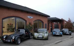 Showroom Morgan Prague